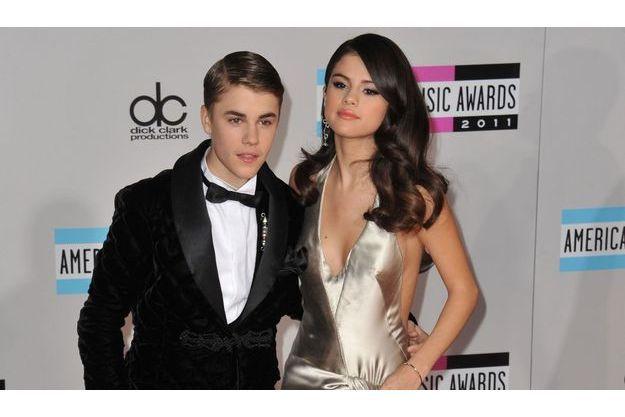 Justin Bieber et Selena Gomez en novembre 2011.