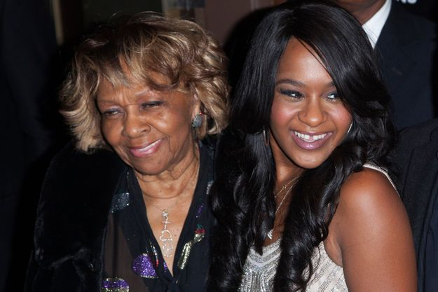 Crissy Houston et sa petite-fille Bobbi Kristina Brown en 2012.