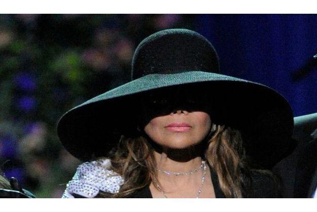 La Toya Jackson, à la cérémonie d'hommage à Michael Jackson le 7 juillet.
