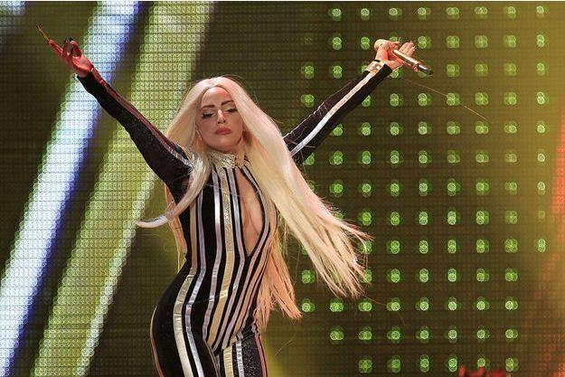 Lady Gaga, en concert en décembre 2012 dans le New Jersey.