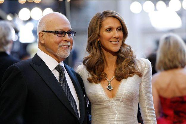 René Angelil et Céline Dion en 2011.