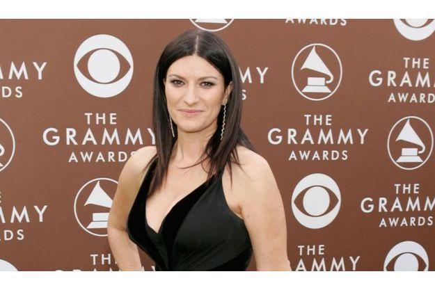 Laura Pausini, jeune maman.