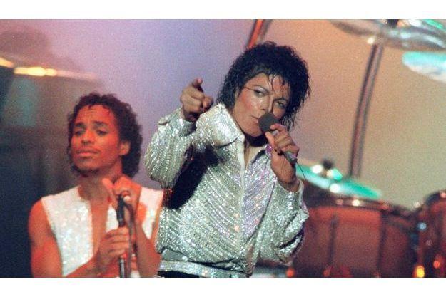 Michael Jackson, lors d'un concert à Toronto en 1984.