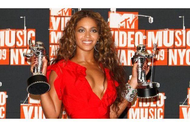 Beyoncé a remporté deux prix hier soir.