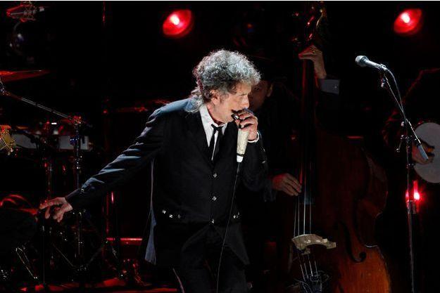 Bob Dylan en concert en 2012.