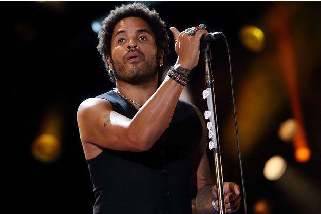 Lenny Kravitz en concert à Nashville en juin 2013