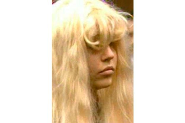 Amanda Bynes lors de sa comparution devant un tribunal de Manhattan, vendredi.
