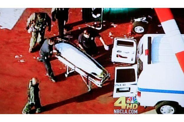La dépouille de Michael Jackson à Los Angeles