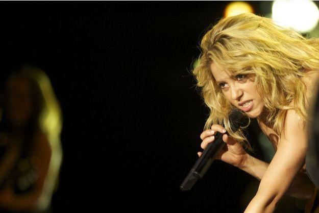 "Shakira en 2010, à l'époque de la sortie de ""Loca""."