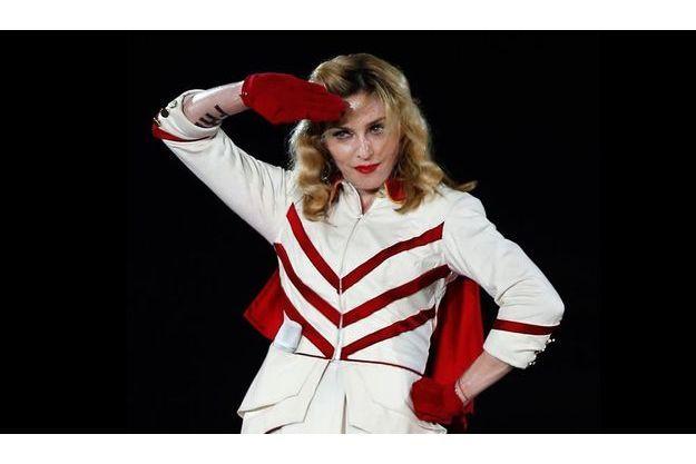 Madonna à Nice mardi soir. Dernière étape du MDNA tour en Europe avant de repartir pour l'Amérique.