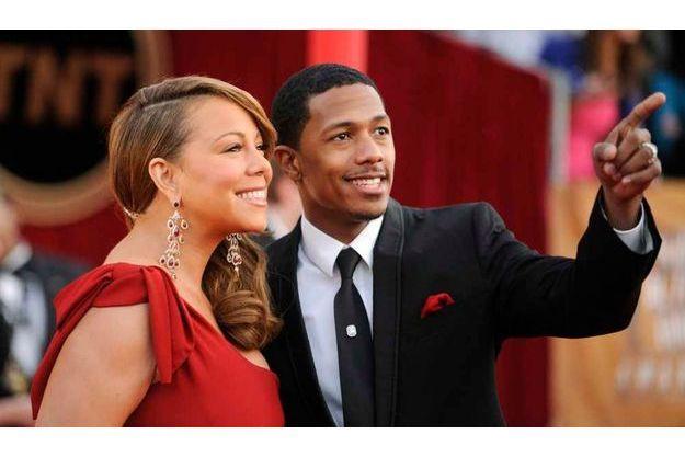 Mariah Carey et Nick Cannon trépignent d'impatience.