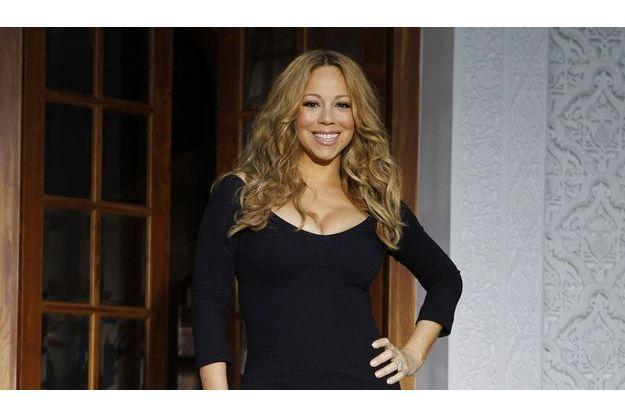 Mariah Carey, samedi dernier.