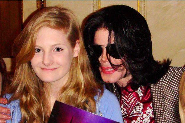 Harriet Lester et Michael Jackson en 2009