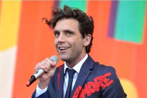 Mika en concert à Londres le 21 juin dernier