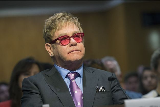Elton John en mai 2015 à Washington.