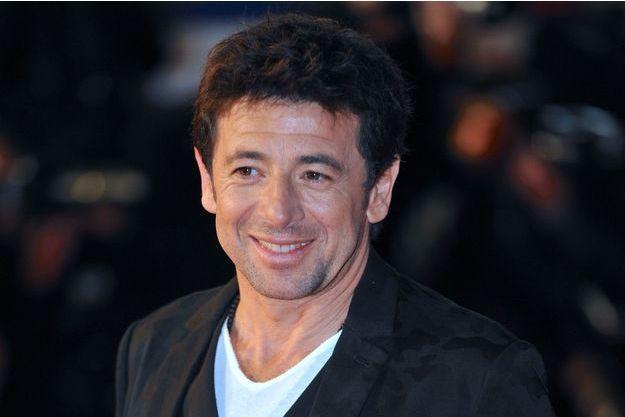 Patrick Bruel aux NRJ Music Awards à Cannes, le 13 décembre 2014