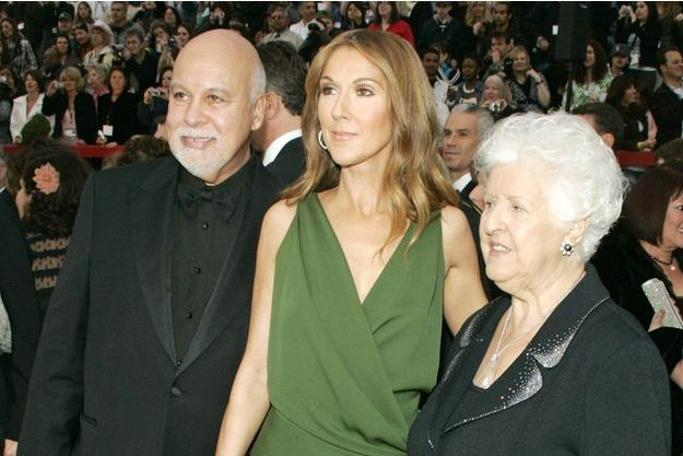 René, Céline et Thérèse lors de la 79e cérémonie des Oscars.