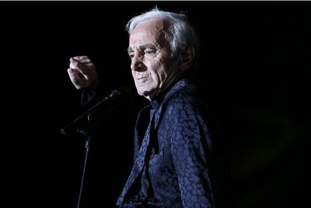 Charles Aznavour en 2013.