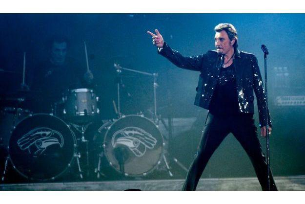 Johnny Hallyday a invité Sylvie Vartan sur la scène du Stade de France.