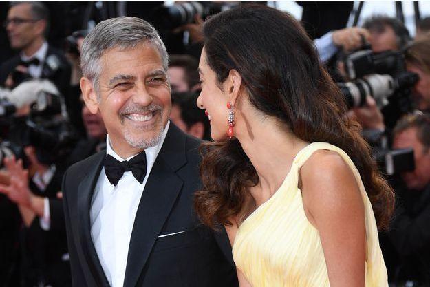 George et Amal Clooney lors du festival de Cannes 2016.