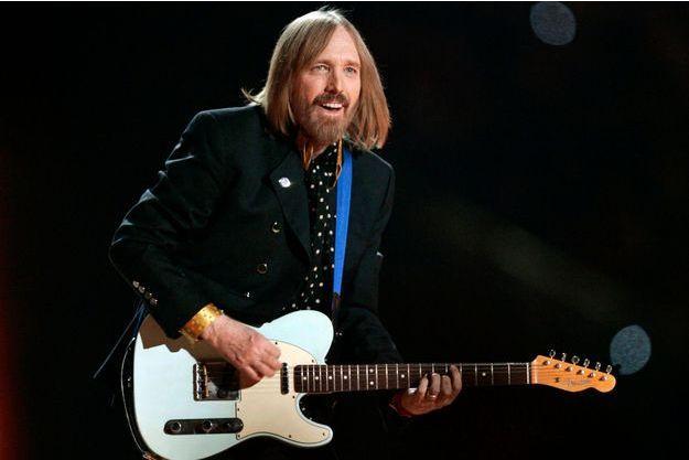 Tom Petty, le 3 février 2008 en Arizona.