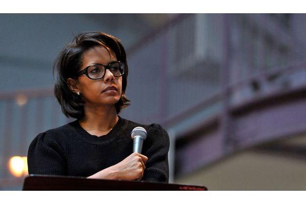 Audrey Pulvar lors d'un débat, en septembre 2011.