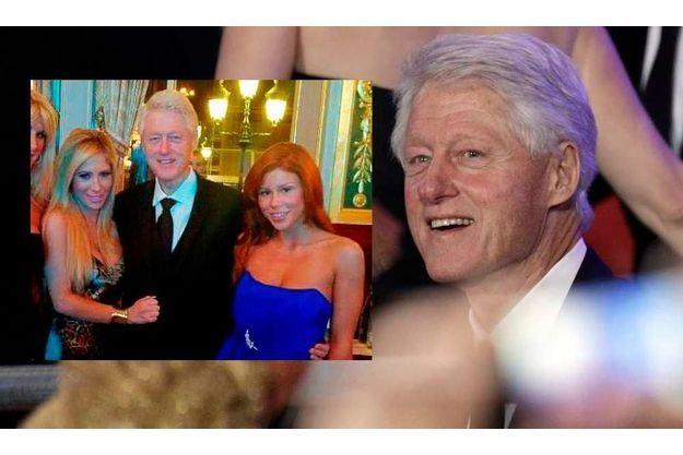 Bill Clinton et ses admiratrices.