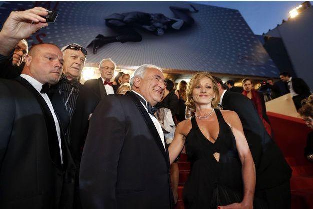 DSK et Myriam L'Aouffir, samedi, à Cannes.