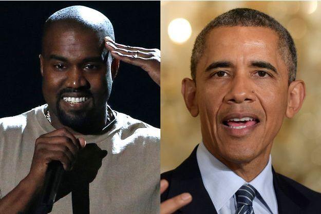 """Barack Obama a déjà traité Kanye West d'""""imbécile"""" à deux reprises."""