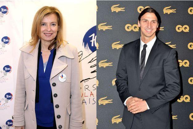 Valérie Trierweiler et Zlatan Ibrahimović, à la tête du canton de Saint Florine ?