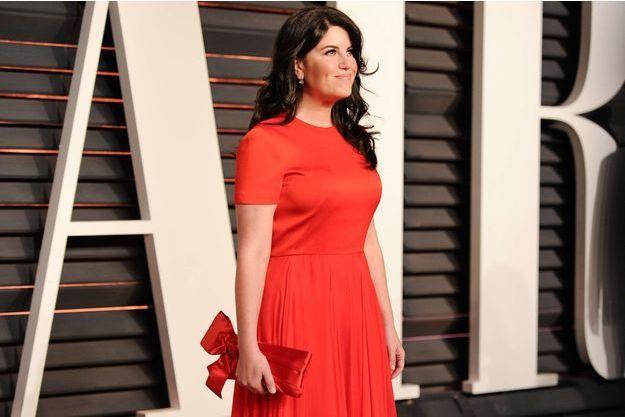 Monica Lewinsky à la soirée post-Oscars de Vanity Fair, en février dernier.