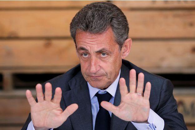 Nicolas Sarkozy à Strasbourg en juillet 2016.