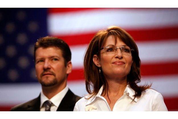 Sarah Palin et son mari Todd.