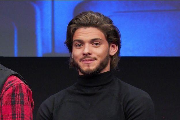 Rayane Bensetti en janvier 2018.