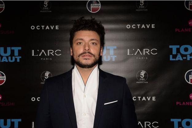 Kev Adams à Paris le 7 décembre 2017.