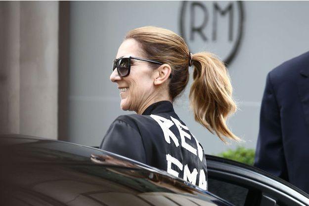 Céline Dion à Paris en août 2017.