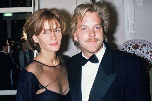 Julia Roberts et Kiefer Sutherland en 1990
