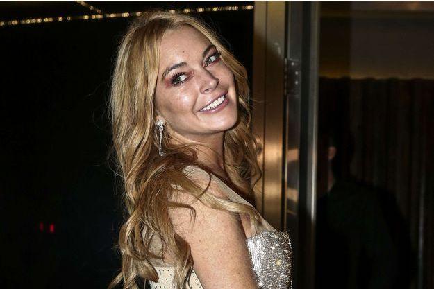 Lindsay Lohan en octobre 2016.