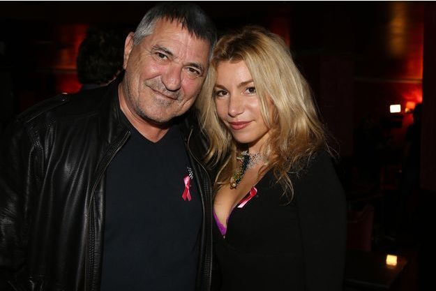 Lola Marois et son époux Jean-Marie Bigard en octobre 2017 à Paris.