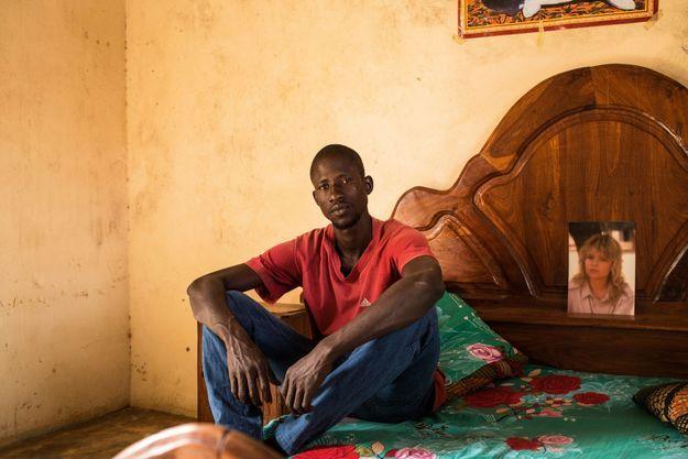 Babacar, 32 ans, le 9 février. Il vit toujours à Gandiaye, au Sénégal.