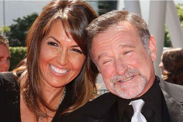 Robin Williams et sa femme Susan Schneider Williams en 2010