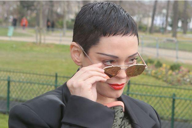 Rose McGowan à Paris le 3 mars dernier.