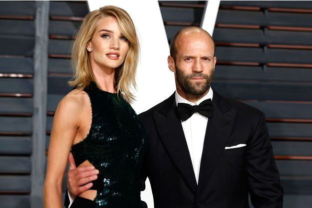 Rosie Huntington-Whiteley et Jason Statham