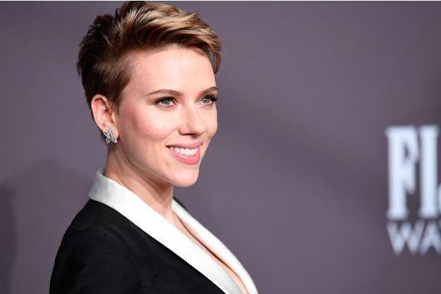 Scarlett Johansson à l'amfAR