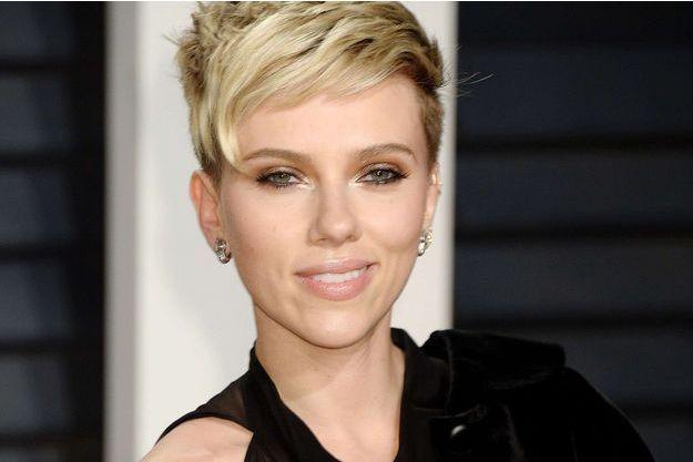 Scarlett Johansson à la soirée Vanity Fair, le 26 février 2017.