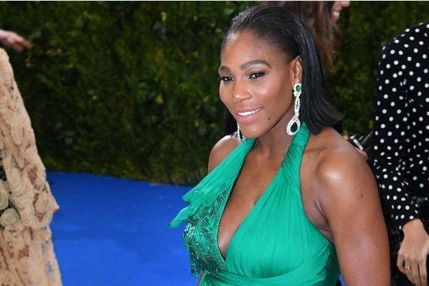 Serena Williams au Met Gala, en mai 2017.