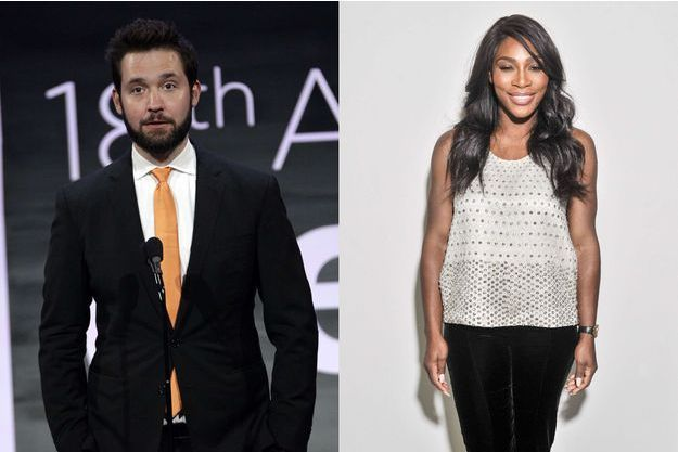 Serena Williams et Alexis Ohanian.
