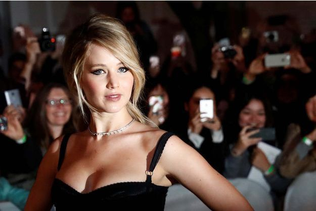 Jennifer Lawrence lors du Festival de Toronto.
