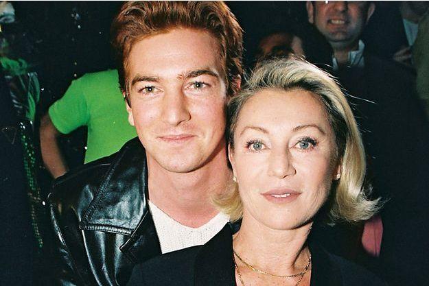 Sheila et son fils Ludovic en 1998.