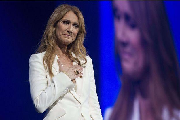Céline Dion en concert à Montréal, le 31 juillet 2016.